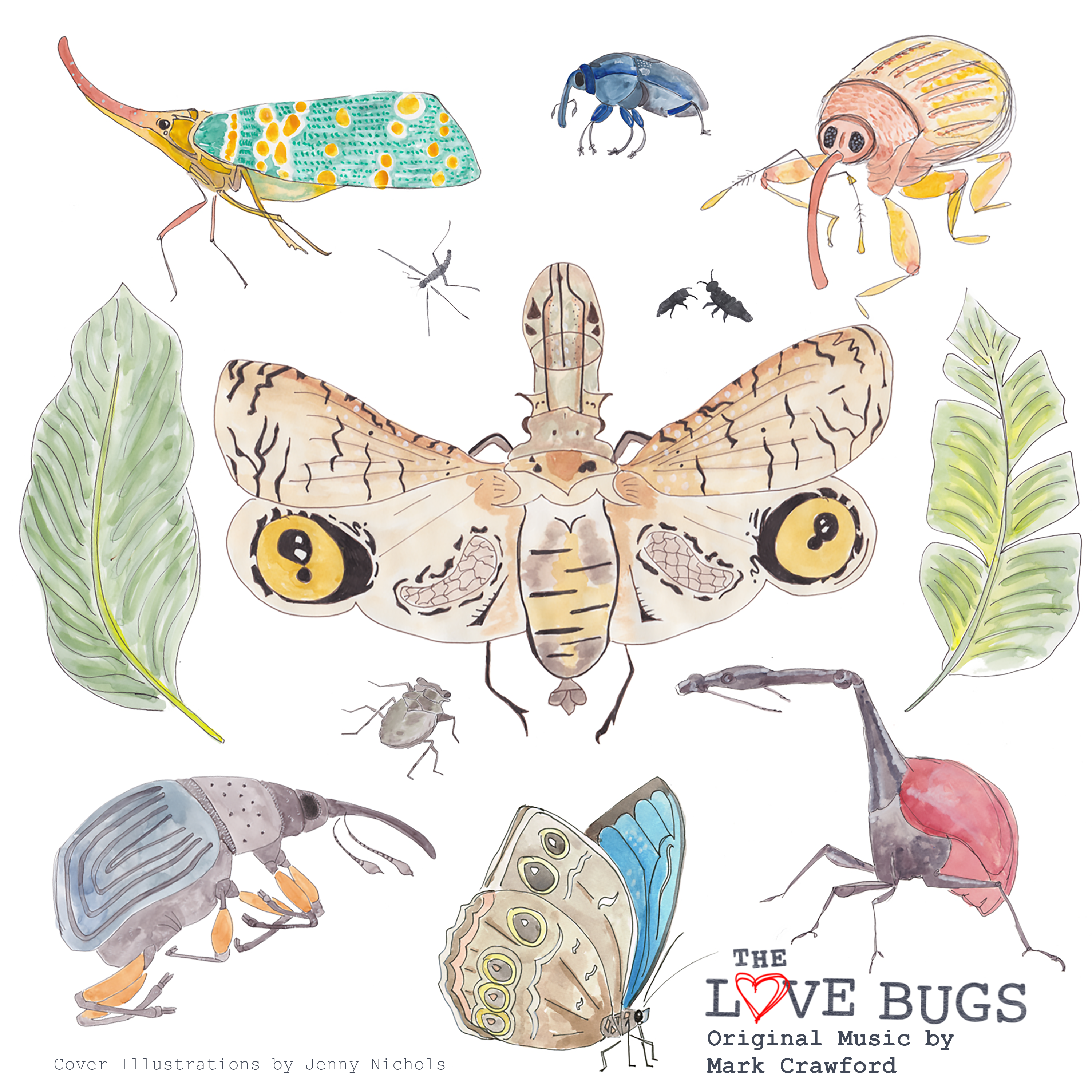 Lovebugs montage-title – Album Cover
