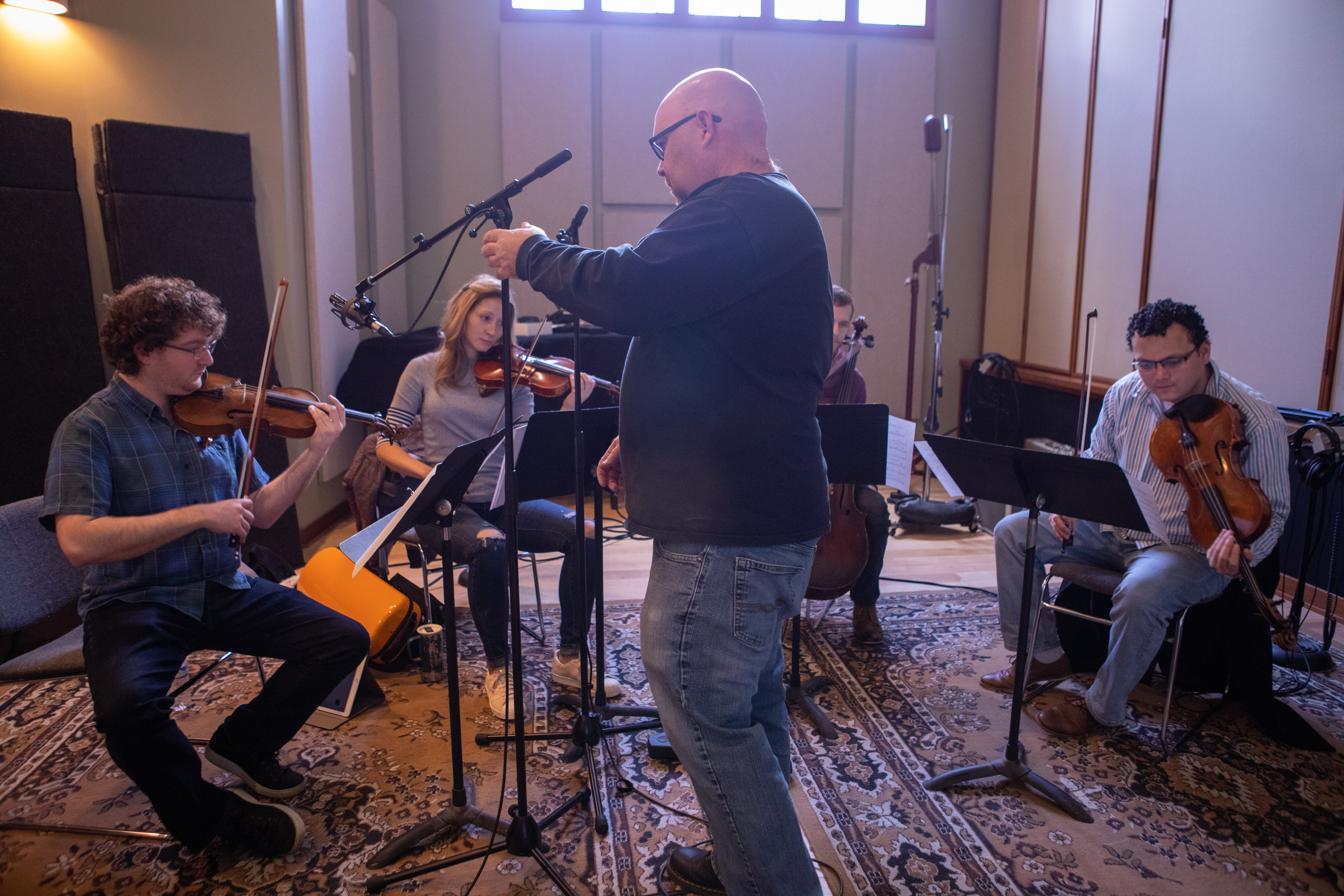 Strings Day for The Love Bugs score