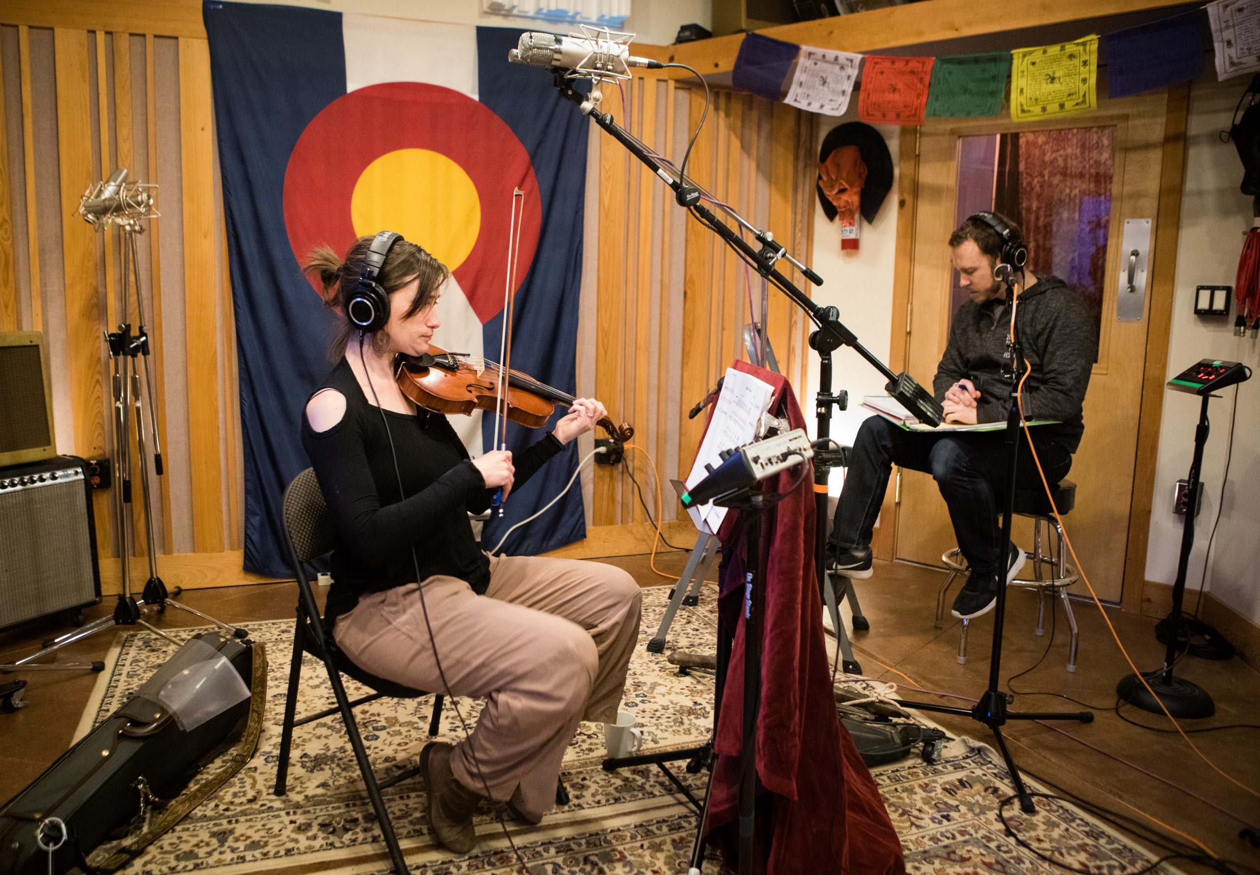 Classic Recording at Evergroove Studios